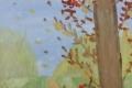 Зашуршали под ногами листья с желтыми боками