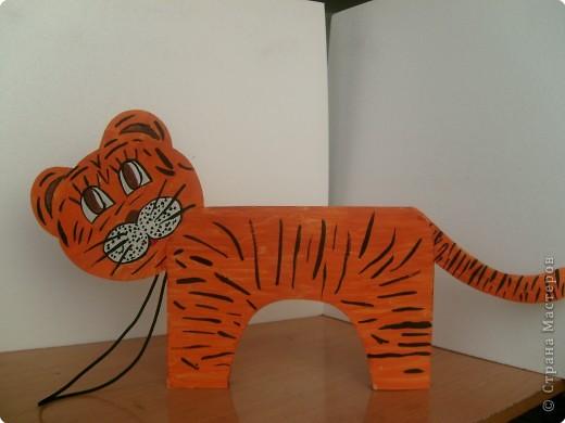 Сделать своими рукам тигра 4