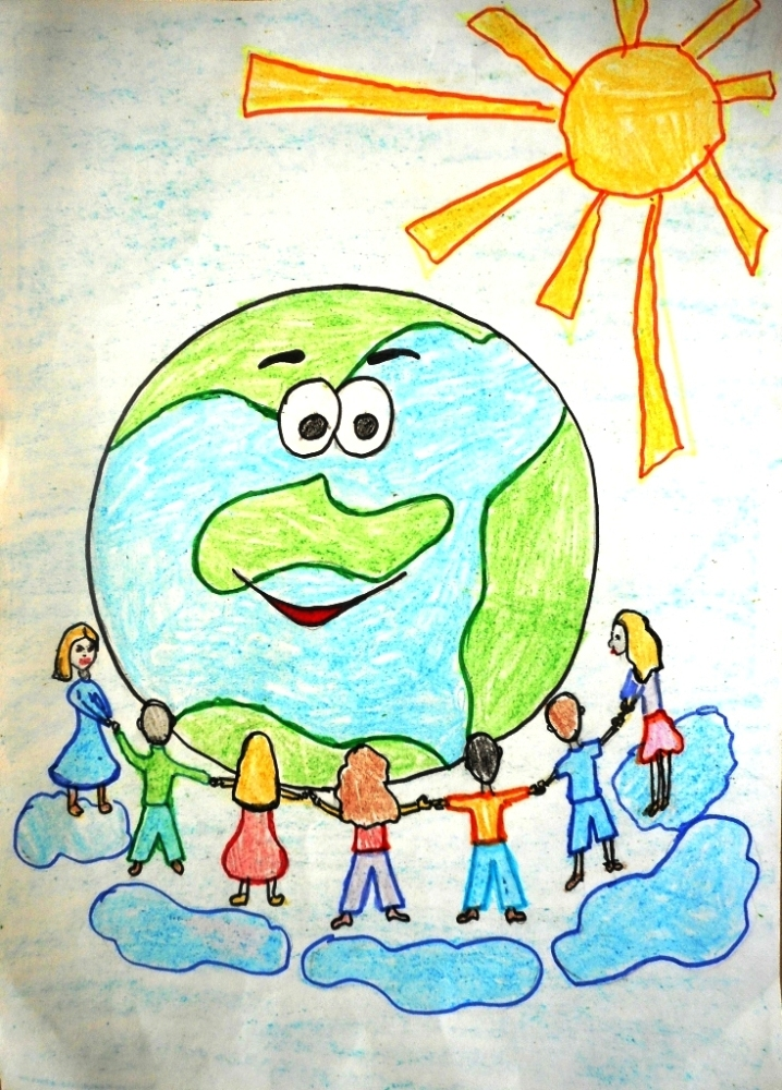 Детские картинки моя планета