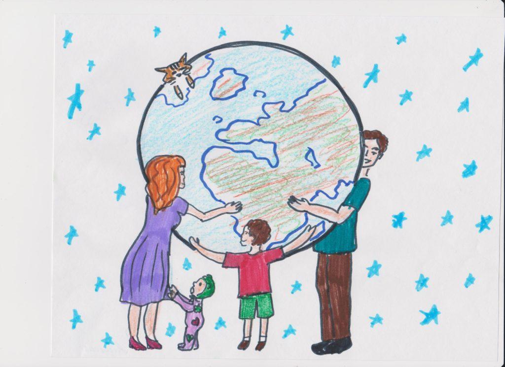 планета семья картинки простые рецепты
