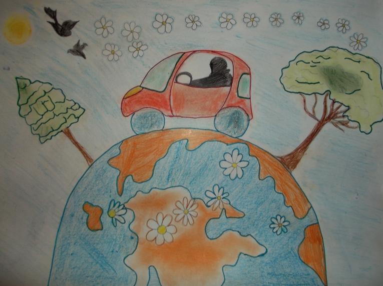 Детские рисунки путешествия